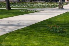 настроение весны пасхи на парке rokoko Стоковое Изображение