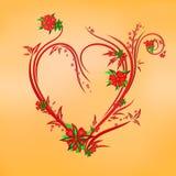Настроение весны сердца Стоковая Фотография RF