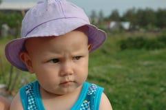 настроение девушки Стоковое фото RF