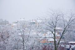 Настроение зимы Стоковое фото RF