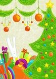 настроение рождества Бесплатная Иллюстрация