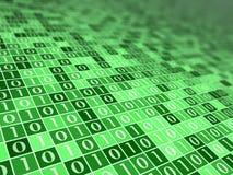 настроение b цифровое зеленое Стоковое Изображение