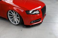 Настроенное Audi S4 Стоковая Фотография