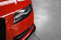 Настроенное Audi S4 Стоковые Изображения RF