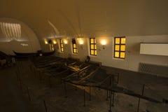 Настройка корабля Викингов стоковые фото