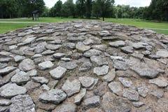 Насыпи известняка каменные на форте старом Стоковое фото RF