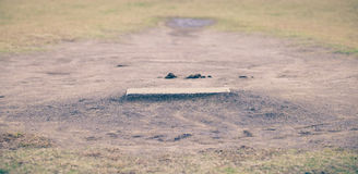 Насыпь засмолки бейсбола Стоковая Фотография RF