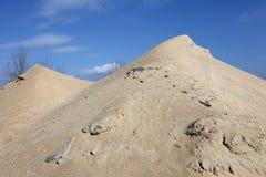 Насыпь песка стоковое фото