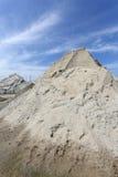 Насыпь песка стоковые фото