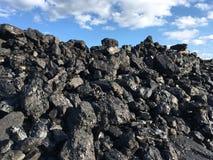 Насыпь угля стоковое фото