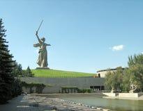насыпь mamaev захоронения Стоковое Изображение