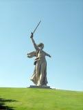 насыпь mamaev захоронения Стоковое Фото