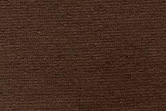 Насыщенная коричневая текстура ткани с элегантностью Стоковое фото RF