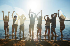 наслаждаться летом Стоковые Фото