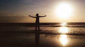 Наслаждаться заходом солнца Стоковое фото RF