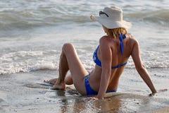 наслаждаться морем Стоковые Фотографии RF