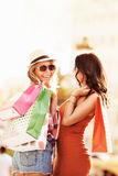 наслаждаться покупкой Стоковое Изображение