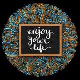 насладитесь жизнью вашей Стоковое Изображение