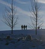 насладитесь зимой Стоковое Изображение