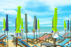Насладитесь на пляже Стоковое Фото