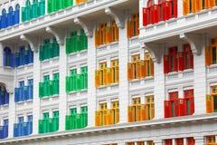 Наследие красочное Windows стоковое фото rf
