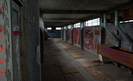 Наследие Лейдена Meelfabriek промышленное Стоковое Фото