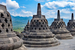Наследие Borobodur старое Стоковые Изображения
