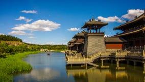 наследие grottoes datong фарфора культурное обнаружило местонахождение yungang мира Стоковое Фото