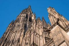 наследия Германии cologne собора мир unesco места наземного ориентира известного международный Оно выстроило в ряд третьим в спис Стоковые Фото
