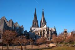 наследия Германии cologne собора мир unesco места наземного ориентира известного международный Оно выстроило в ряд третьим в спис Стоковое Изображение