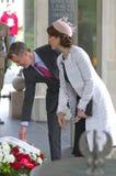 Наследный принц Frederik Дании и его жена, Pri стоковые изображения rf