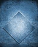 Наслоенная абстрактная голубая предпосылка в цвете демикотона джинсовой ткани голубом Стоковое Фото