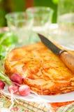 Наслоенная картошка печет стоковое изображение
