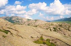 Наслоенные горы! Стоковое фото RF