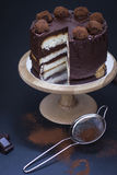 наслоенный торт Стоковая Фотография