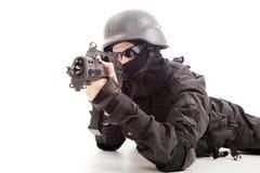 НАТО мальчика стоковое изображение