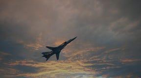 НАТО: Обратная вспышка Бомбардировщики русской военновоздушной силы Стоковые Фото