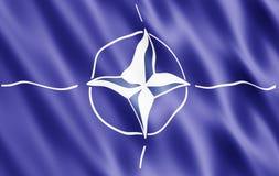 НАТО флага Стоковые Изображения