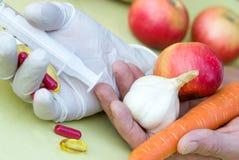 Натуральные продукты - здоровая еда Стоковое фото RF