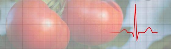 Натуральные продукты здравоохранения диеты Здоровая еда для предотвращать сердце иллюстрация вектора