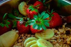 Натуральные продукты органических веществ еды известный и популярный выбор, который нужно пообедать в поле здоровья, особенно за  Стоковое Изображение