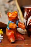 Натюрморта медведя игрушки глины дети керамического красивые милые Стоковое Изображение RF