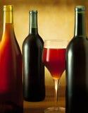 Натюрморт бутылки вина Стоковое Фото