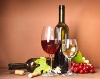 Натюрморт вина Стоковое Изображение RF