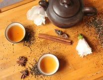 Натюрморт - время чая Стоковое Изображение RF