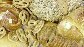 Натюрморт выпечки хлеба Стоковая Фотография