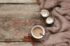 Натюрморт зимы уютный Стоковое фото RF