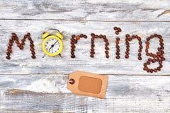 Натюрморт кофе, деревянная предпосылка Стоковое Изображение