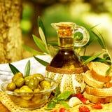 Натюрморт оливкового масла Стоковое Изображение RF
