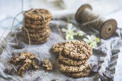 Натюрморт печений шоколада стоковые изображения rf